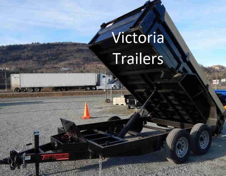 7x12 Sure trac dump trailer