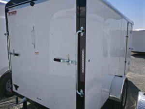 6x12 Cargo Trailer ramp