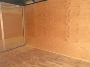trailer inside