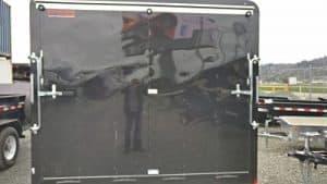 8.5 cargo trailer black