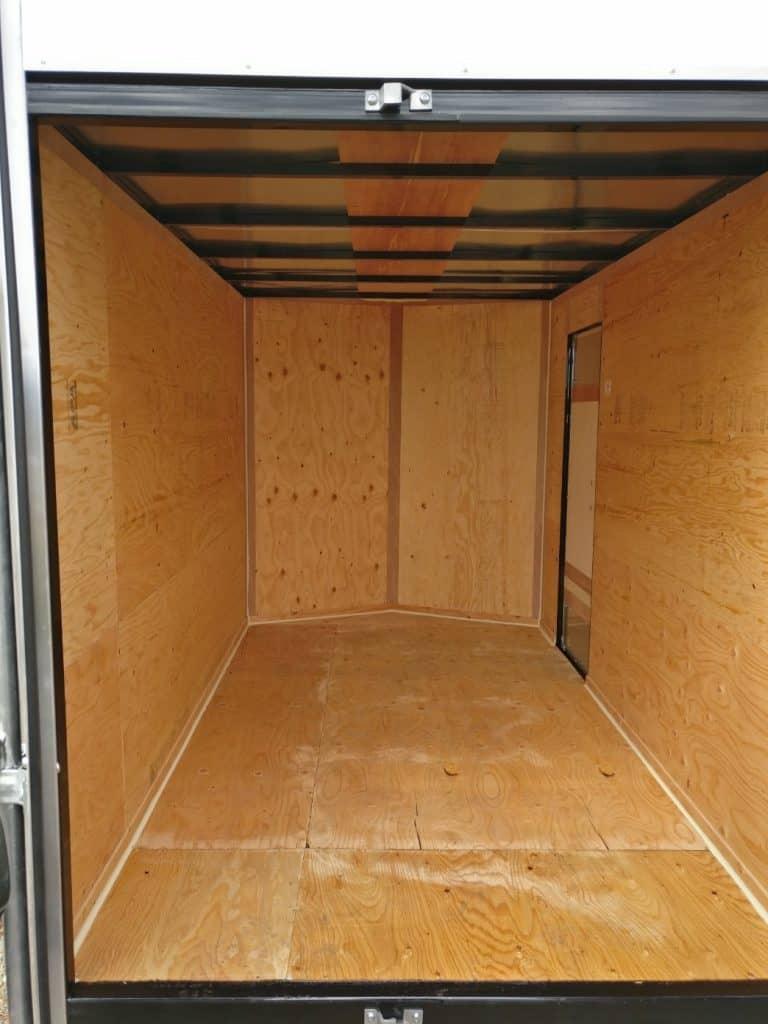 6x10 expres cargo trailer inside.