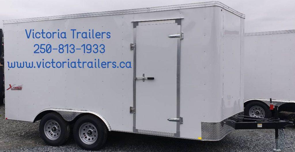 7x14 Tandem Cargo Trailer