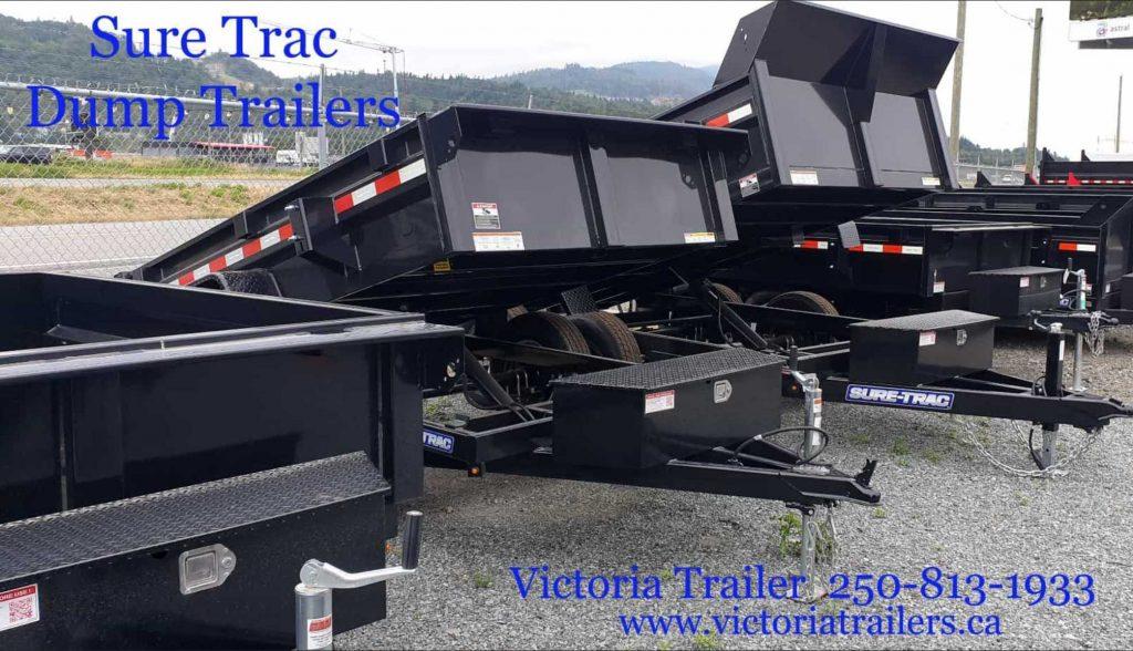 Sure-Trac Dump Trailer