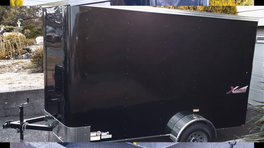6x10 Mirage Expres Cargo Trailer 6x10