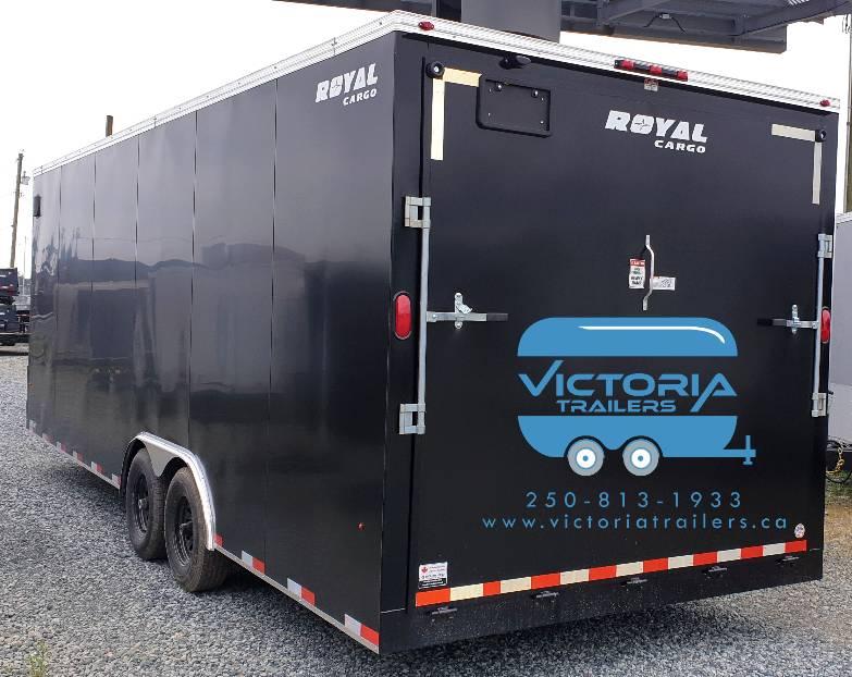 8.5x20 royal cargo car trailer