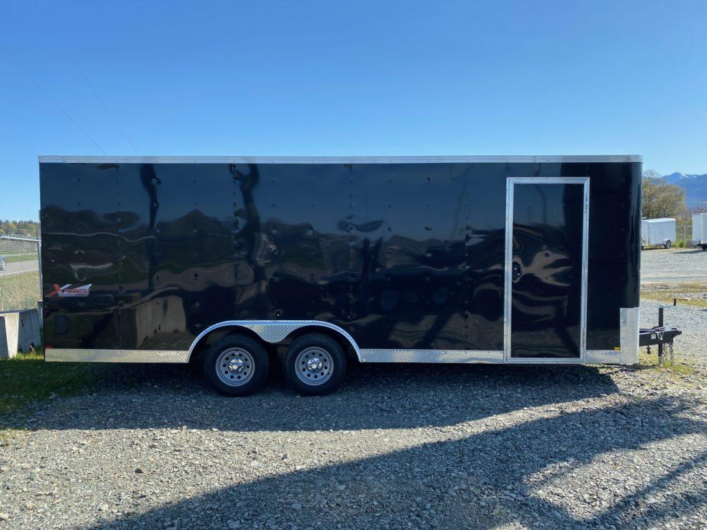 8.5x20 xpres tandem cargo trailer