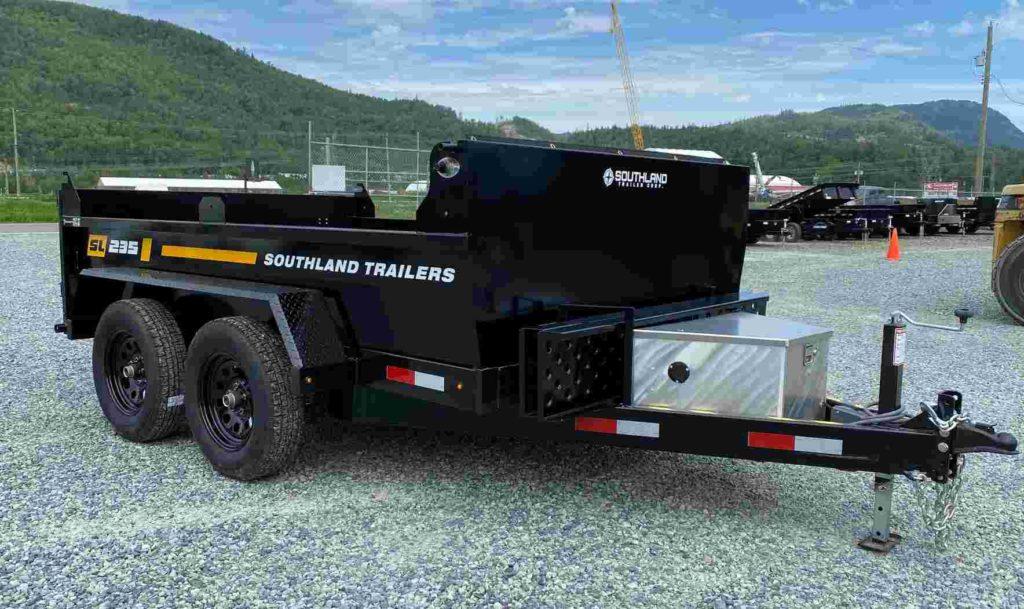 6x10 7k southland dump trailer