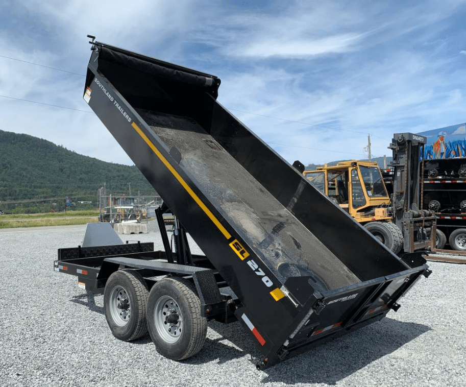 7x14 southland 14k dump trailer
