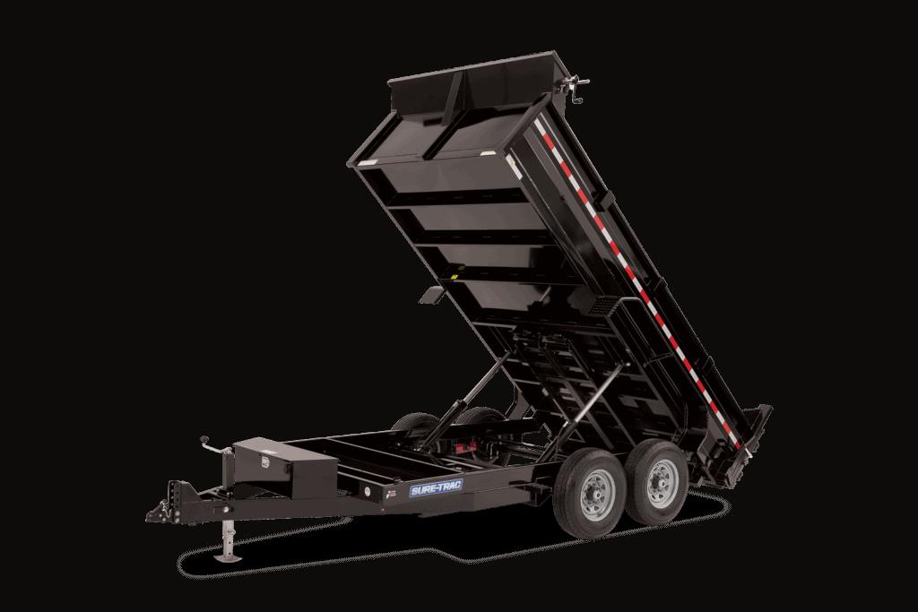 7X14 Sure Trac Dump Trailer 14k