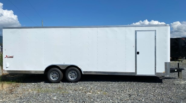 8.5x24 enclosed cargo trailer rental