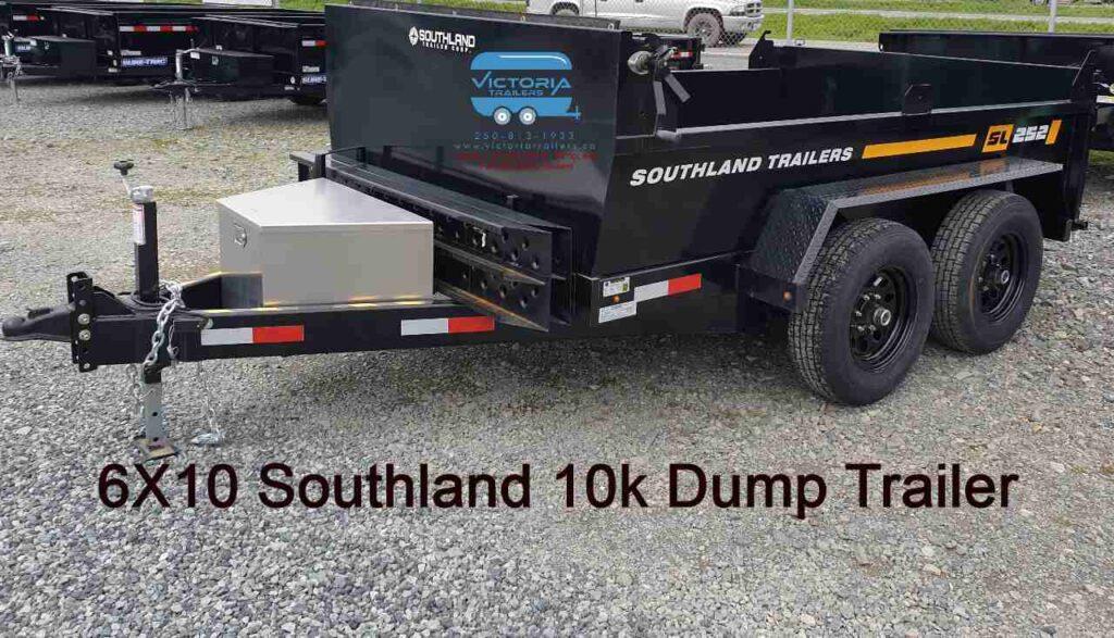 6x10 dump trailer rental