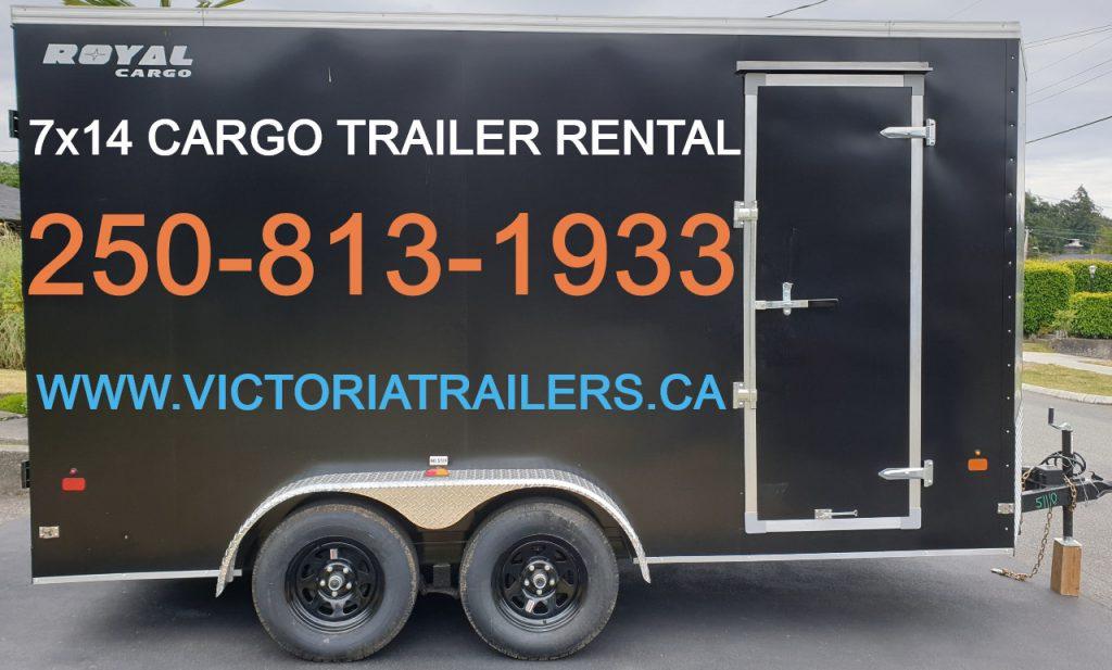 7x14 enclosed cargo trailer rental