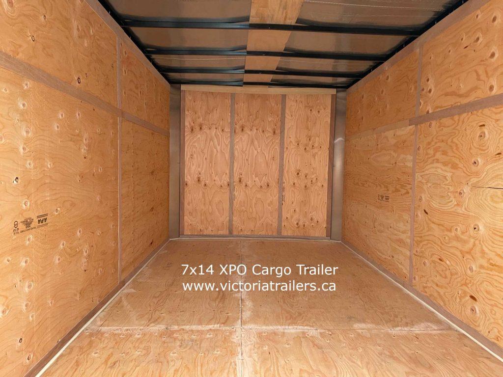 mirage xpo cargo trailer inside